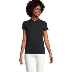 Textil Ženy Polo s krátkými rukávy Sols OSCAR WOME Negro profundo