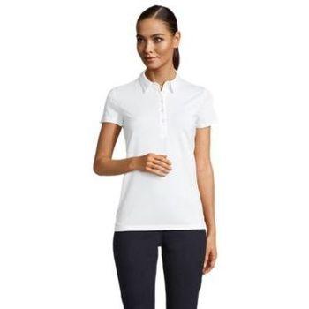 Textil Ženy Polo s krátkými rukávy Sols OSCAR WOME Blanco óptimo