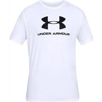Textil Muži Trička s krátkým rukávem Under Armour Sportstyle Logo Tee Bílé
