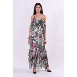 Textil Ženy Společenské šaty Guess W1GK1FWDW52 Bezbarvý