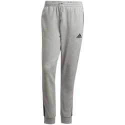Textil Muži Kalhoty adidas Originals Essentials Tapered Cuff 3 Stripes Šedé