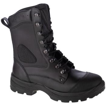 Boty Muži bezpečnostní obuv Protektor Viking Černá