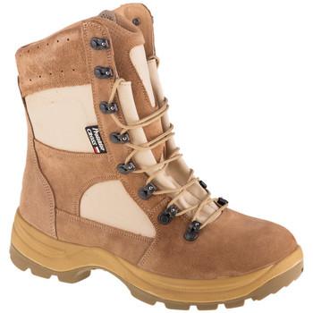 Boty Muži bezpečnostní obuv Protektor Cross Béžová