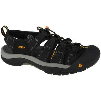 Boty Muži Sportovní sandály Keen Newport H2 Černá