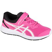 Boty Děti Běžecké / Krosové boty Asics Ikaia 9 PS Růžová