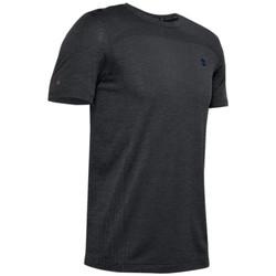 Textil Muži Trička s krátkým rukávem Under Armour Rush Seamless Fitted SS Tee 1351448-001 Černá
