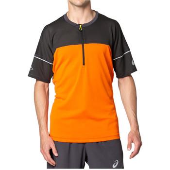 Textil Muži Trička s krátkým rukávem Asics Fujitrail Top Tee Oranžová