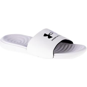 Boty Muži pantofle Under Armour Ansa Fixed Slides 3023761-103 Bílá