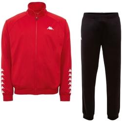 Textil Muži Teplákové soupravy Kappa Till Training Suit 303307-19-1663 Červená