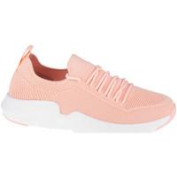 Boty Ženy Nízké tenisky Big Star Shoes Růžová