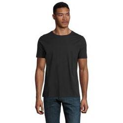 Textil Muži Trička s krátkým rukávem Sols LUCAS MEN Negro profundo