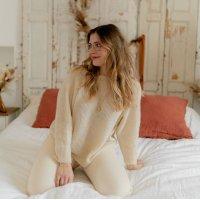 Textil Ženy Svetry Céleste COMETE Ecru