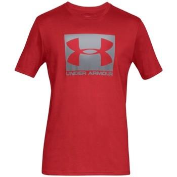 Textil Muži Trička s krátkým rukávem Under Armour Boxed Sportstyle SS Tee 1329581-600 Červená