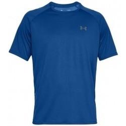 Textil Muži Trička s krátkým rukávem Under Armour Tech 2.0 Short Sleeve modrá