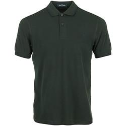 Textil Muži Polo s krátkými rukávy Fred Perry Twin Tipped Shirt Zelená