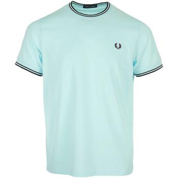 Textil Muži Trička s krátkým rukávem Fred Perry Twin Tipped T-Shirt Modrá