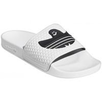Boty Muži pantofle adidas Originals Shmoofoil slide Bílá
