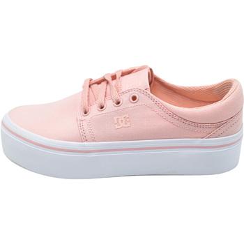 Boty Ženy Módní tenisky DC Shoes Trase Platform Tx Růžový
