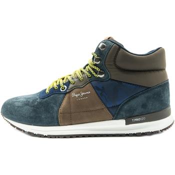 Boty Muži Kotníkové boty Pepe jeans Tinker Pro-Boot Modrý