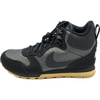 Nike Kotníkové boty Wmns MD Runner 2 Mid Prem - Černá