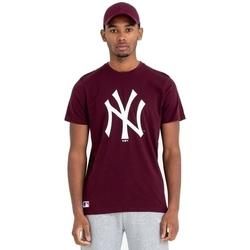 Textil Muži Trička s krátkým rukávem New-Era Team Logo New York Yankees Hnědý
