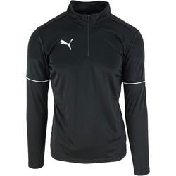 Textil Muži Teplákové bundy Puma Teamgoal 1/4 Zip Top Core Černá