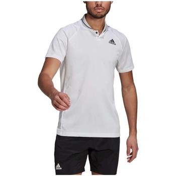 Textil Muži Trička s krátkým rukávem adidas Originals Club Rib Tennis Polo Bílý
