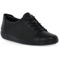 Boty Ženy Multifunkční sportovní obuv Ecco SOFT 2 BLACK FEATHER Nero