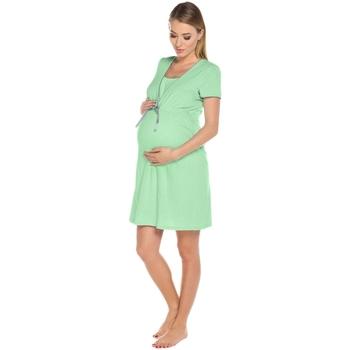 Textil Ženy Těhotenská móda Italian Fashion Kojící košile Felicita green