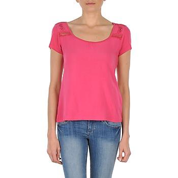 Textil Ženy Trička s krátkým rukávem DDP NOWI Růžová
