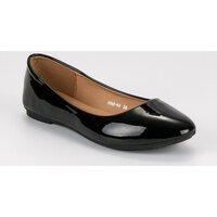 Boty Ženy Baleríny  Diamantique Lakované černé baleríny