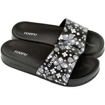 Boty Ženy pantofle Wink Dámske čierne šľapky MISCHA čierna