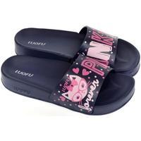 Boty Ženy pantofle Wink Dámske tmavo-modré šľapky PARRI tmavomodrá