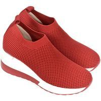 Boty Ženy Street boty Bosido Dámske červené poltopánky RHIANNA červená