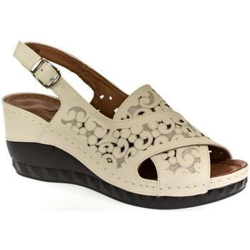 Boty Ženy Sandály Bosido Dámske béžové sandále PAIGE béžová