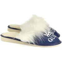 Boty Ženy Papuče John-C Dámske modré papuče QUEEN modrá