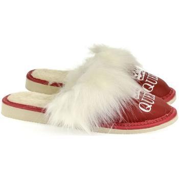 Boty Ženy Papuče John-C Dámske červené papuče QUEEN červená