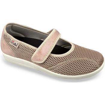 Boty Ženy Papuče Mjartan Dámske béžové papuče  NELLY béžová