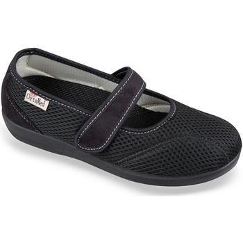 Boty Ženy Papuče Mjartan Dámske čierne papuče  NELLY čierna