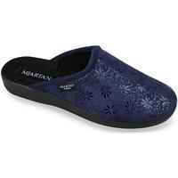 Boty Ženy Papuče Mjartan Dámske modré papuče  IVANKA tmavomodrá