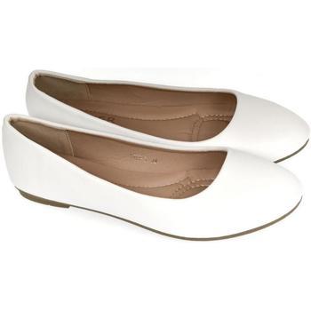 Boty Ženy Baleríny  Comer Dámske biele baleríny LUSINE biela