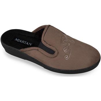 Boty Ženy Papuče Mjartan Dámske papuče  DIA hnedá
