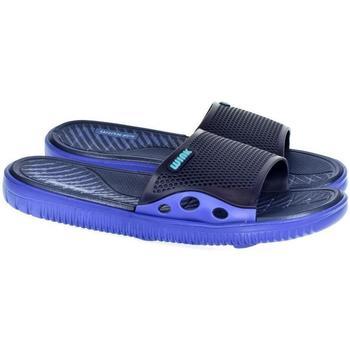 Boty Muži pantofle Wink Pánske modré šľapky  LARSON tmavomodrá