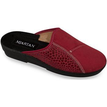 Boty Ženy Papuče Mjartan Dámske papuče  MONA bordová