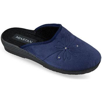 Boty Ženy Papuče Mjartan Dámske modré papuče  SOŇA modrá