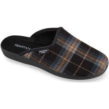 Boty Muži Papuče Mjartan Pánske papuče  EDO čierna