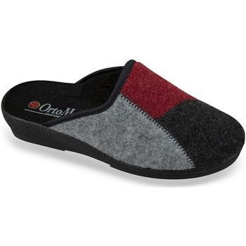 Boty Ženy Papuče Mjartan Dámske čiernobiele papuče  BLACKIE čierna