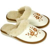 Boty Ženy Papuče John-C Dámske hnedé papuče MALVINA ťavia