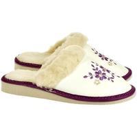Boty Ženy Papuče John-C Dámske biele papuče MALVINA biela