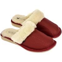 Boty Ženy Papuče Just Mazzoni Dámske luxusné kožené papuče GITA červená